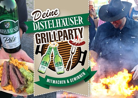 Grillparty gewinnen!